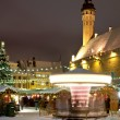 Christmas market in Tallinn — Stock Photo