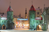 Viru street in Tallinn — Stock Photo