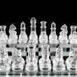Chess pieces on chess board — Stock Photo #21232139