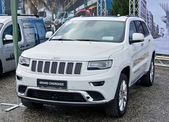 Jeep Grand Cherokee — Stock Photo