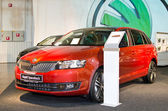 Skoda Rapid Spaceback — Stock Photo