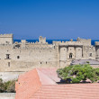 Palace of the Grand Master of the Knights of Rhodes — Stock Photo