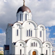 Russian orthodox church in Tallinn — Stock Photo