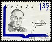 Poland stamp, Leon Kruczkowski — Stock Photo