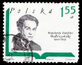 Poland stamp, Konstanty Ildefons Gatczynski — Stock Photo