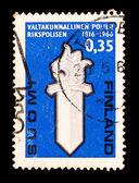Finland stempel — Stockfoto