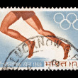 Stock Photo: Indistamp, Olympic Games 1968