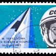 Ploand stamp, Tereshkova — Stock Photo #36943787