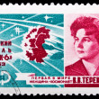 USSR stamp, Tereshkova — Stock Photo #36943831
