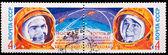 USSR stamp, Bykovsky and Tereshkova — Stockfoto