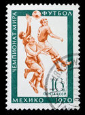 USSR stamp football championship — Stockfoto