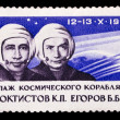 ������, ������: USSR stamp first three manned space flight