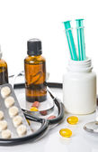 Narzędzi medycznych i medycyna — Zdjęcie stockowe