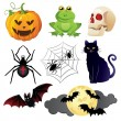 Halloween icons set — Stock Vector #12272623
