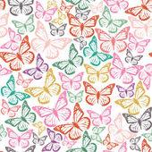 фон с бабочками — Cтоковый вектор