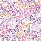 蝶のパターン — ストックベクタ