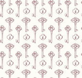 Keys pattern illustration — Stock Vector