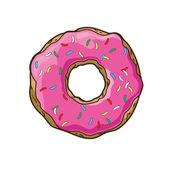 Vector donut — Stock Vector