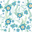 Cute floral seamless pattern background — Stok Vektör #27325559