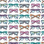 眼鏡のパターン — ストックベクタ