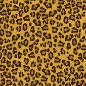 Leopard skin texture — Stock Vector
