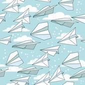 纸飞机 — 图库矢量图片