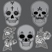 Skulls — Vecteur