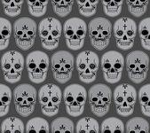 Skulls — Stockvektor