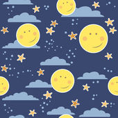 Childish seamless pattern — Stock Vector