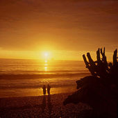 Rialto Beach Sunset — Stock Photo