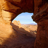 Viewpoint On Delicate Arch — Stock Photo
