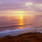 Pacific Sunset At Torrey Pines — Stock Photo
