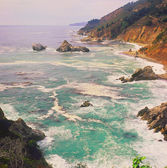Big Sur Overlook — Stock Photo
