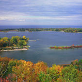 Green Bay and Lake Michigan ~ Wisconsin — Stock Photo