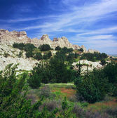 Cliff Shelf Trail ~ Badlands National Park, SD — Stock Photo