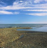 Brule River Mouth At Lake Superior — Stock Photo