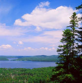Gunflint Lake Overlook — Stock Photo