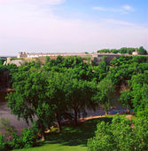 Fort snelling staatspark — Stockfoto
