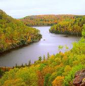 Wolf Lake Overlook ~ Boundary Waters Canoe Area, MN — Stock Photo