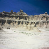 """Window Trail Perspective"" ~ Badlands National Park — Stock Photo"