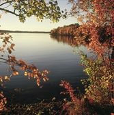 Sunset Portal On Vermilion Lake — Stock Photo