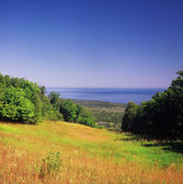 Moose Mountain Overlook On Lake Superior — Stock Photo