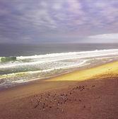 Sunrise At Seaside Beach — Stock Photo