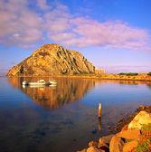 Morro Rock Exhibition Morro Bay, California — Stock Photo