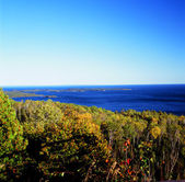 Overlook on the Susie Islands and Lake Superior - from Mt. Josephine — Stock Photo