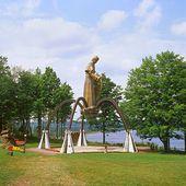 Shrine of the Snowshoe Priest - Michigan Upper Peninsula — Stock Photo