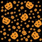 Pumpkin of frame — Stock Photo