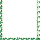 Leaf of frame — Stock Photo