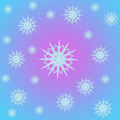 Nieve de marco sobre fondo — Foto de Stock