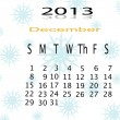 Calender of 2013 — Stock Photo #17604167